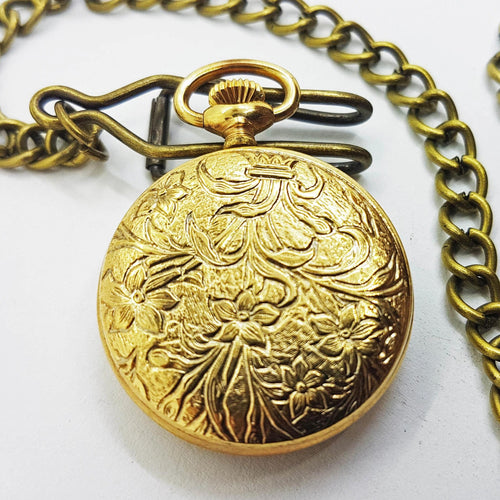 Strato Vintage Pocket Watch | French Collection Medallion Watch - Vintage Radar