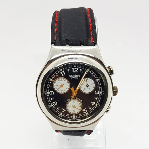 1995 VERNISSAGE YCS101 Swatch Irony Chronograph Swatch Watch Vintage - Vintage Radar