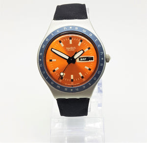 1998 ORANGIN' ZEST YGS7002 Swatch Irony | Best Deal Vintage Watch - Vintage Radar
