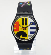 Load image into Gallery viewer, Swiss Made 1987 Vintage Swatch Watch | NINE TO SIX GB117 Swatch - Vintage Radar