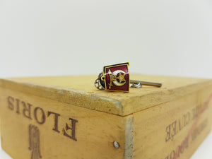 Old Cars Vintage Set of Cufflinks, Tie Clip and Lapel Pin - Vintage Radar
