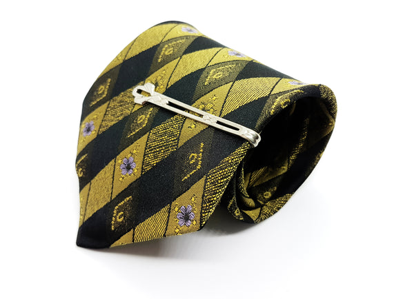 C&A Vintage Tie & Tie Clip | Wedding Collection - Vintage Radar