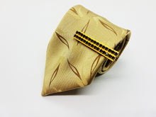 Load image into Gallery viewer, Elegant Satin Juwel Vintage Tie & Tie Clip | Wedding Collection - Vintage Radar