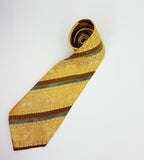 Elegant Juwel Vintage Tie & Tie Clip | Wedding Collection - Vintage Radar