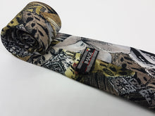 Load image into Gallery viewer, Tribal Print Vintage Tie & Tie Clip | Wedding Collection - Vintage Radar