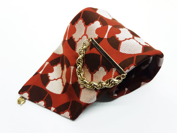 Alpi Arseda Vintage Tie & Tie Clip | Wedding Collection - Vintage Radar