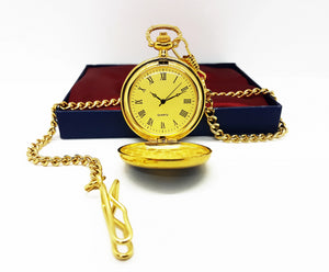 Vintage Victorian Gold Pocket Watch | Can Be Engraved Upon Request - Vintage Radar