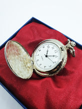 Load image into Gallery viewer, Elegant Silver-Tone Pocket Watch | Can Be Engraved Upon Request - Vintage Radar