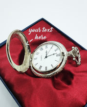 Load image into Gallery viewer, Wedding Suit Silver Pocket Watch Vintage | Can Be Engraved Upon Request - Vintage Radar