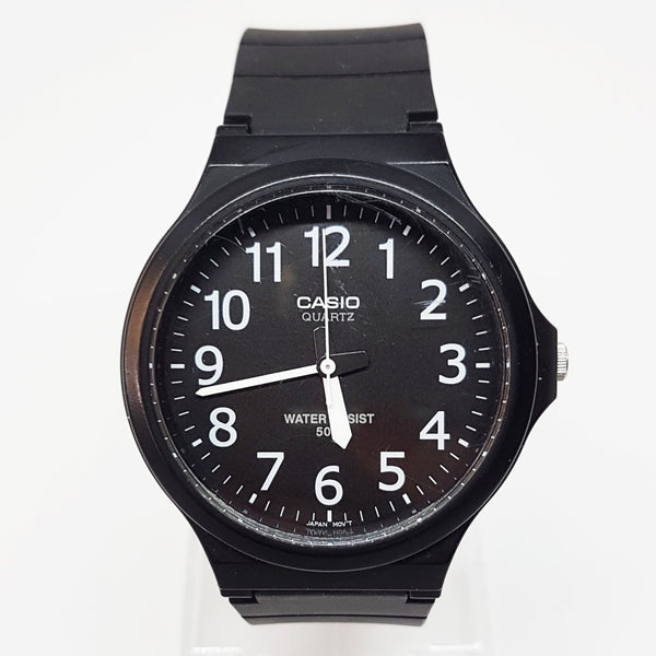 All Black Casio Watch For Men or Women |  Water Resistant Watches - Vintage Radar
