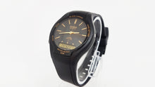 Load image into Gallery viewer, AW-90H-9EVEF Elegant All Black Casio Gift Watch For Men - Vintage Radar