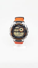 Load image into Gallery viewer, Orange Casio watch for men, Vintage mens sports wristwatch - Vintage Radar