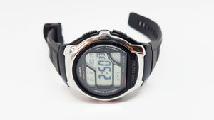 Wave Ceptor Black Casio Watch for Men | WV58A-1AV Casio Watch - Vintage Radar