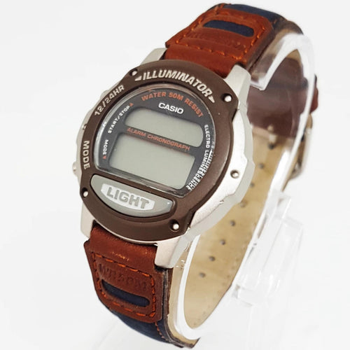 Alarm Chronograph Casio Illuminator Vintage Casio For Men, Small Antique Wristwatch - Vintage Radar