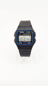 Classic F-91W Black Vintage Casio Watch | Alarm Chronograph Watch - Vintage Radar