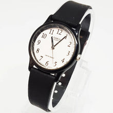Load image into Gallery viewer, Vintage Minimalist Casio Watch | Classic Black and White Casio Wristwatch - Vintage Radar