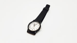 Vintage Minimalist Casio Watch | Classic Black and White Casio Wristwatch - Vintage Radar