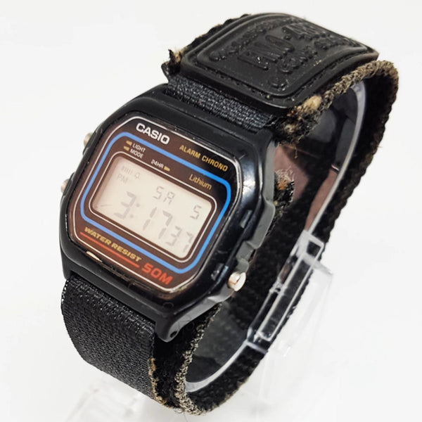 Vintage Casio Alarm Chrono Watch | Water Resistant Casio Wristwatch - Vintage Radar