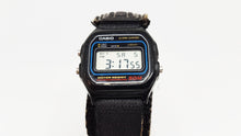 Load image into Gallery viewer, Square Water Resistant Black Dial Vintage Casio Watch, Antique Horologio - Vintage Radar