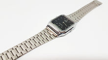 Cargue la imagen en el visor de la Galería, Silver-tone Casio Quartz Watch | Double Digital and Analog Display - Vintage Radar