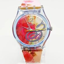 Load image into Gallery viewer, BOUQUET POUR MAMAN GN186 Swatch watch | 1999 Vintage Swatch - Vintage Radar