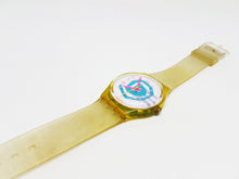 تحميل الصورة في عارض المعرض ، 1990 BIKINI GJ105 Vintage Swatch Watch | Minimalist Swiss Watch - Vintage Radar