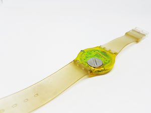 1990 BIKINI GJ105 Vintage Swatch Watch | Minimalist Swiss Watch - Vintage Radar