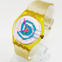 Load image into Gallery viewer, Minimalist Abstract Bikini GJ105 Vintage Swatch Watch - Vintage Radar