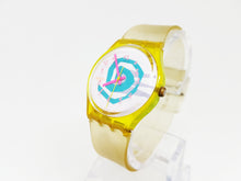 Load image into Gallery viewer, 1990 BIKINI GJ105 Vintage Swatch Watch | Minimalist Swiss Watch - Vintage Radar