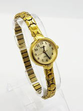 Load image into Gallery viewer, Gold-tone Dainty Timex Watch for Ladies - Vintage Radar