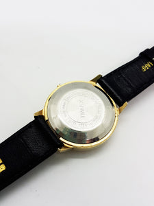 Luxurious Gold-tone Timex Watch Vintage Self Wind - Vintage Radar