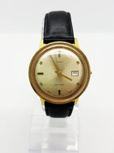 Load image into Gallery viewer, Luxurious Gold-tone Timex Watch Vintage Self Wind - Vintage Radar
