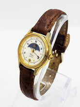 Load image into Gallery viewer, Rare Moonphase Timex Watch Vintage, Occasion Timepiece - Vintage Radar