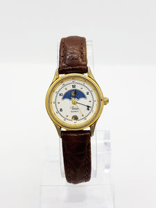 Rare Moonphase Timex Watch Vintage, Occasion Timepiece - Vintage Radar