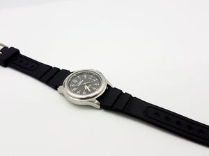 Elegant Gray Timex Expedition, Exquisite Occasion Timepiece - Vintage Radar