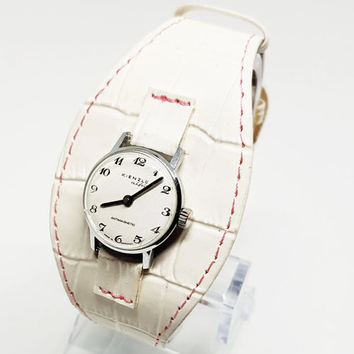 All White KIENZLE Alfa Mechanical Watch | Vintage German Watch - Vintage Radar