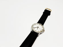 Load image into Gallery viewer, Classic Timex Silver-Tone Mechanical Vintage Watch | Men's Vintage USA Watch - Vintage Radar
