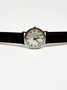 Classic Timex Silver-Tone Mechanical Vintage Watch | Men's Vintage USA Watch - Vintage Radar