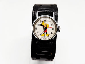 1971 Ingersoll Mickey Mouse Mechanical Watch | 70s Walt Disney Watch - Vintage Radar