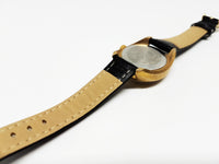 Gold-Tone Mechanical Timex Watch | 80s Vintage Timex Watches - Vintage Radar