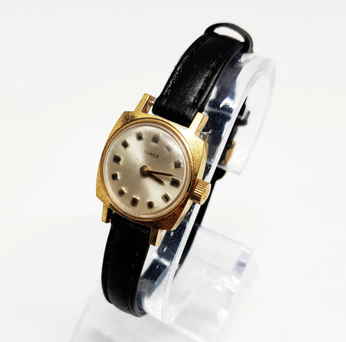 Square Water Resistant Timex Mechanical Watch | Vintage Gift Watches - Vintage Radar