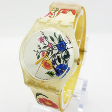Load image into Gallery viewer, 2001 SPRING TOUCH GW132 Swatch Watch | Bohemian Vintage Watches - Vintage Radar