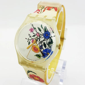 2001 SPRING TOUCH GW132 Swatch Watch | Bohemian Vintage Watches - Vintage Radar