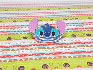Happy Stitch Disney Enamel Pin | Lilo and Stitch - Vintage Radar