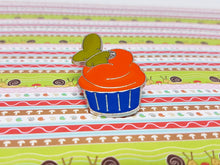 Load image into Gallery viewer, Goofy Dog Cupcake Enamel Pin | Fun Hidden Mickey Pin Collection