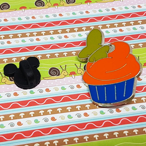 Goofy Dog Cupcake Enamel Pin | Hidden Mickey Collection - Vintage Radar