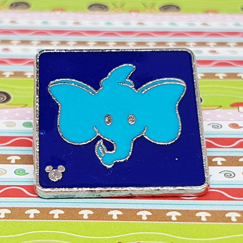Dumbo the Flying Elephant Enamel Disney Pin - 2017 Hidden Mickey - Attraction Icons
