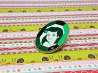 Princess Ariel Disney Enamel Pin | Green The Little Mermaid Disney Pin - Vintage Radar