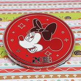 Minnie Mouse Splendid Walt Disney Pin Redondo 2018 Pin Rojo