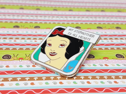 Snow White Enamel Pin | Retro Disney Lapel Pin - Vintage Radar